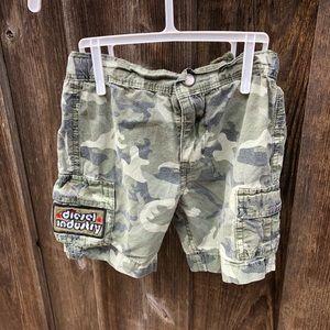 Diesel Camo Shorts